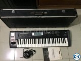 Korg TR 61 Keyboard with Hard case and volume pedal