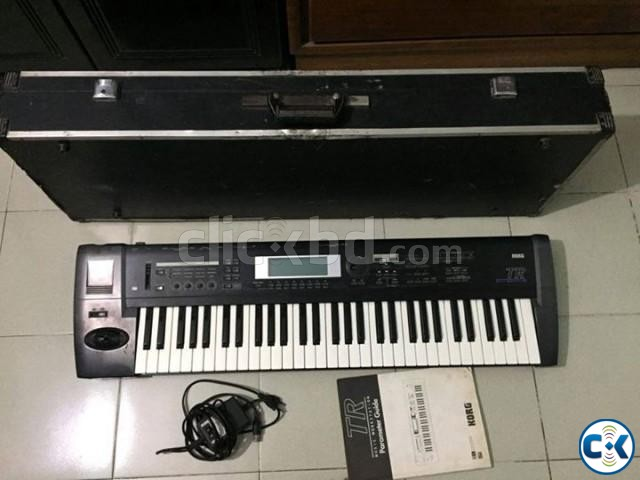 Korg TR 61 Keyboard with Hard case and volume pedal | ClickBD large image 0