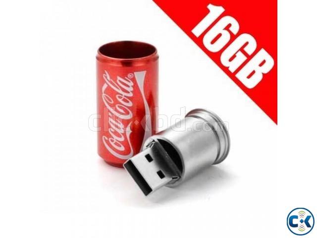 Exclusive Coca cola Pendrive 16Gb | ClickBD large image 0