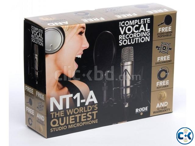RODE NT1-A Condenser Microphone Bundle | ClickBD large image 0