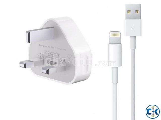 APPLE IPHONE ORIGINAL CHARGER | ClickBD large image 0