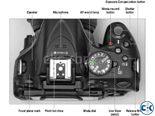Nikon D5200 Vari-angle LCD DSLR with 18-55mm Lens | ClickBD large image 1