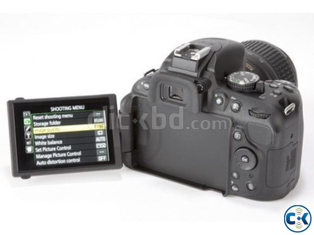 Nikon D5200 Body 24.1 MP CMOS HD Video Digital SLR Camera | ClickBD large image 0