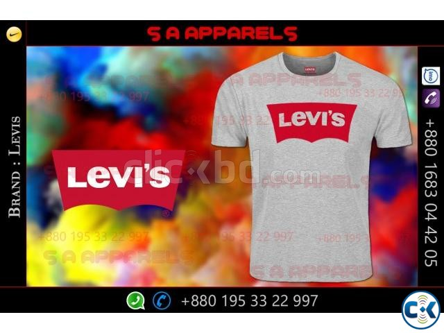 Levis T-shirts | ClickBD large image 0