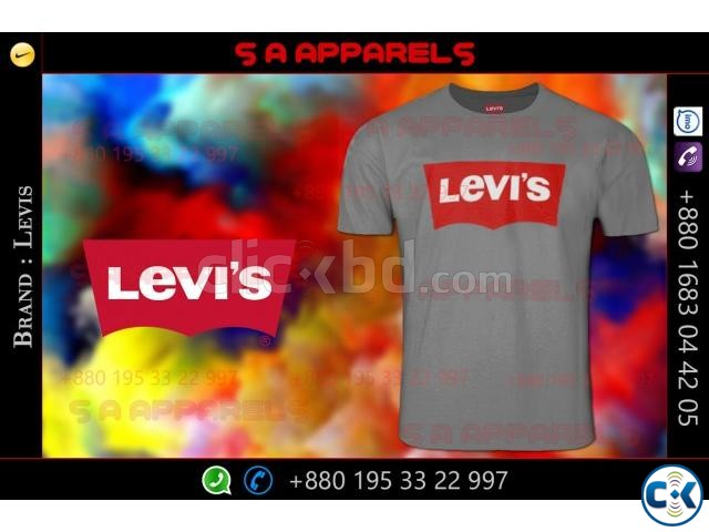 Levis T-shirts | ClickBD large image 1