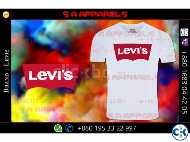 Levis T-shirts | ClickBD large image 2