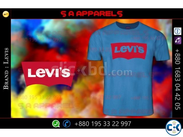 Levis T-shirts | ClickBD large image 3