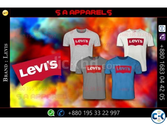 Levis T-shirts | ClickBD large image 4