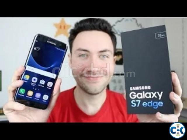 Brand New Samsung Galaxy S7 Edge Dual Sealed Pack 1 Yr Wrnt | ClickBD large image 0