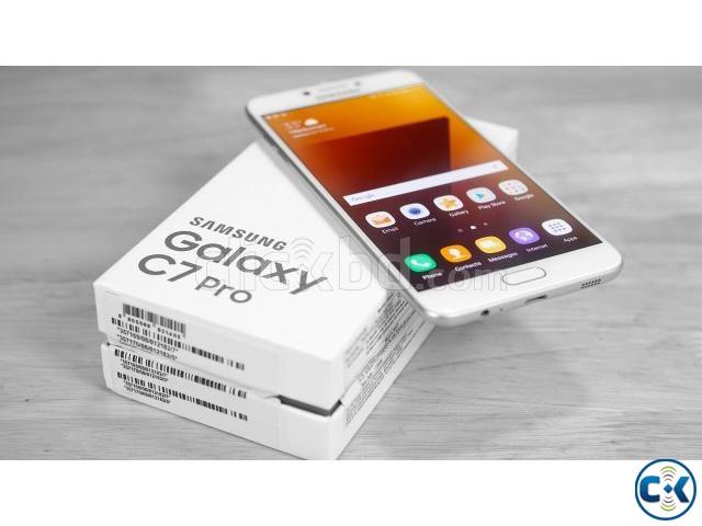Brand New Samsung Galaxy C7 Pro 64GB Sealed Pack 1 Yr Wrrnt | ClickBD large image 3