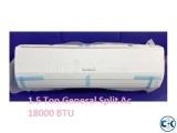 Rotary Compressor 1.5 TON General AC SPLIT TYPE