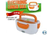 Electric Lunch Box Heats and Stores Food. Code 117