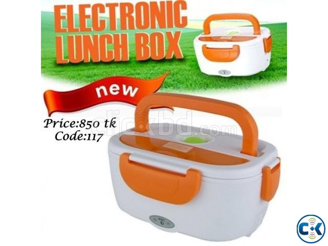 Electric Lunch Box Heats and Stores Food. Code 117 | ClickBD large image 0