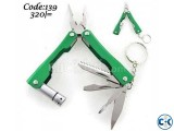9 in 1 Multi Function Folding Plier Tool. Code 139
