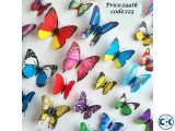 Butter Fly Wall Sticker Plastic Made 12pc Code 123