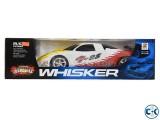 Whisker RC sports car for children