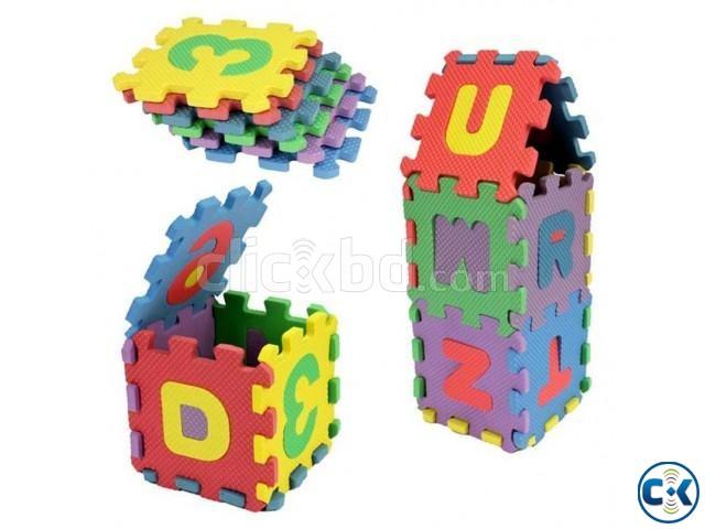 Foam Floor Alphabet Puzzle Mat | ClickBD large image 0