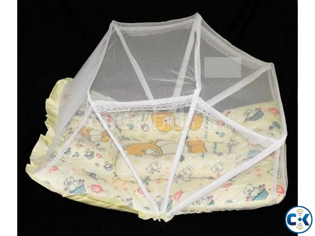 Baby Bedding with Mosquito Net 02   ClickBD large image 0
