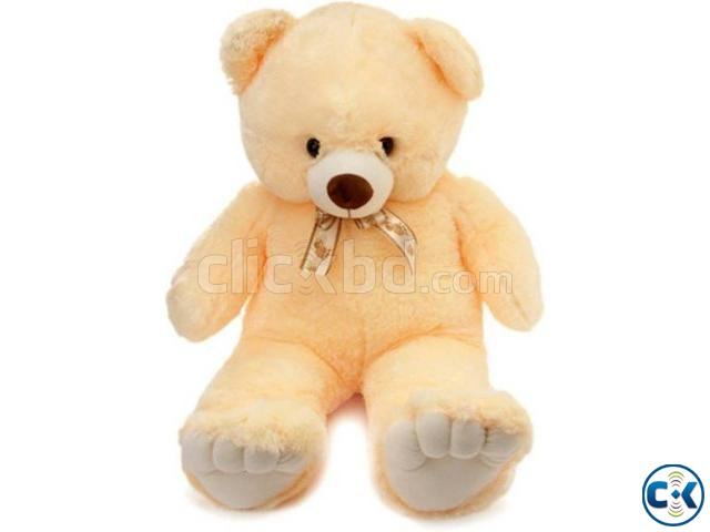 Teddy Bear Baby Soft Toy Large- 3 Color | ClickBD large image 0