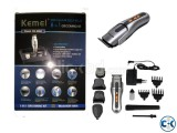 Kemei 8 in 1 Trimmer Grooming kit Rechargeable