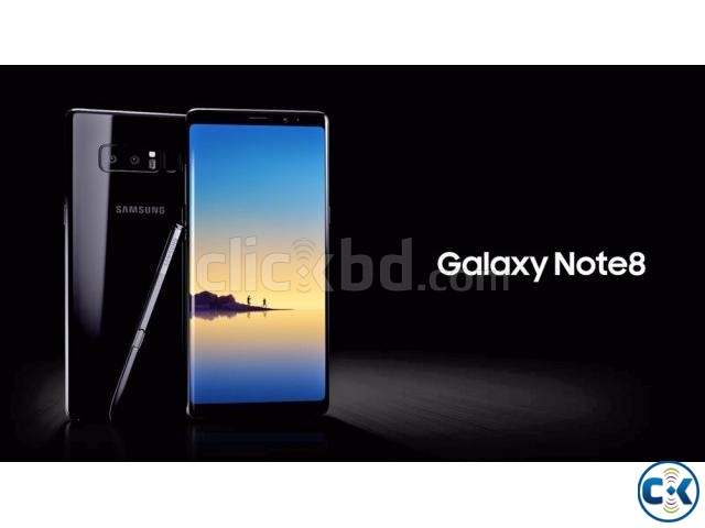 Brand New Samsung Galaxy Note 8 Dual 64GB Sealed Pack Wrnty   ClickBD large image 1