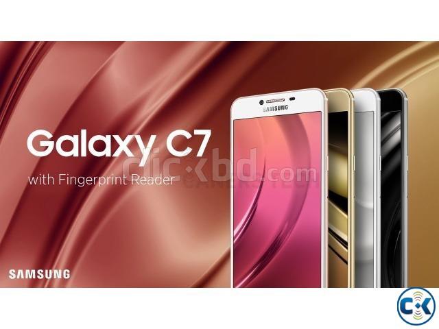Brand New Samsung Galaxy C7 32GB Sealed Pack 1 Yr Wrrnty | ClickBD large image 0