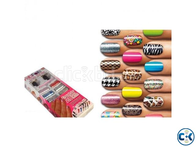 FAB Foils 13 Piece Nail Art Kit | ClickBD large image 0