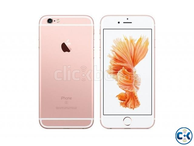 Brand New Apple iphone 6s 128GB Sealed Pack 1 Yr Warranty | ClickBD large image 0