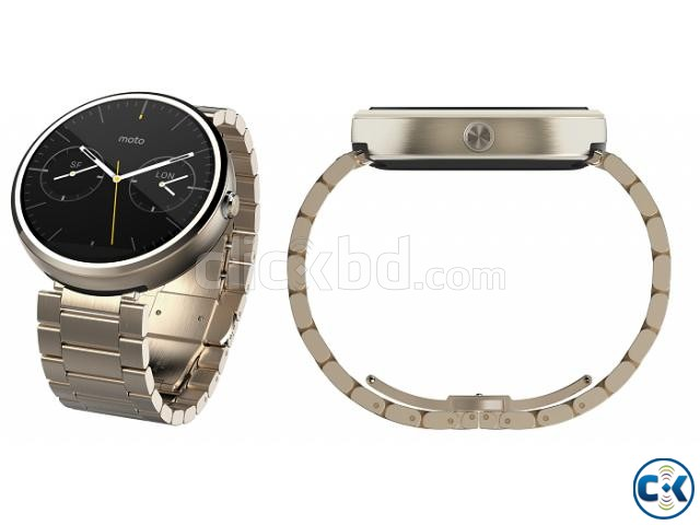 Moto 360 1st gen Gold Edition Brand New See Inside  | ClickBD large image 1
