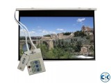 Motorized Projection Screen - 70 x 70