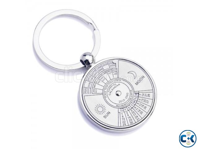 50 Year Calendar Key Ring - Silver Price- 320 tk Key Feature | ClickBD large image 0