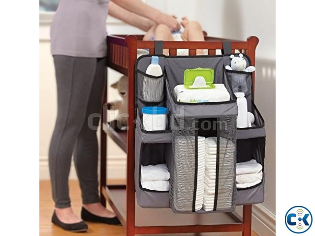 Caddy and Nursery Organizer Bag for Baby s Essentials | ClickBD large image 0