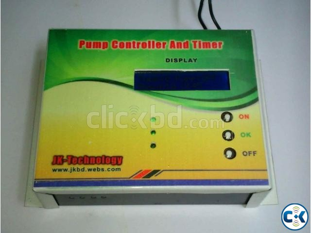 Digital Pump Controller With LCD  | ClickBD large image 0