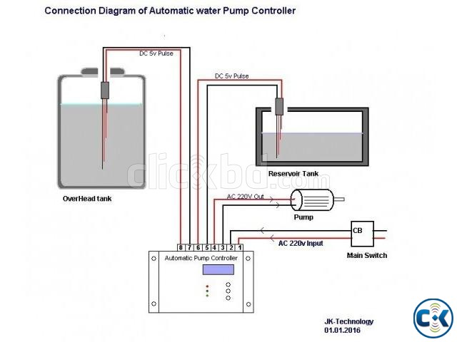 Digital Pump Controller With LCD  | ClickBD large image 1