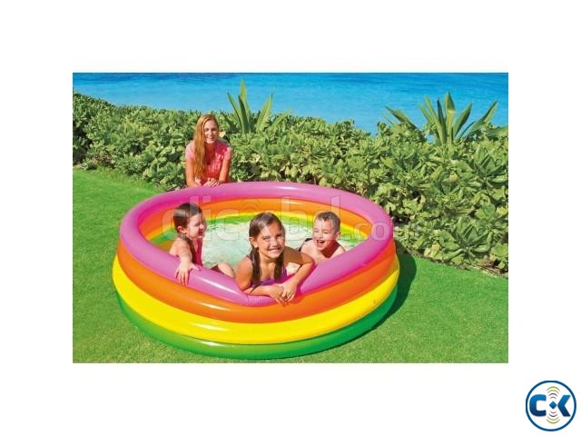 Baby Inflatable Swimming Pool | ClickBD large image 0