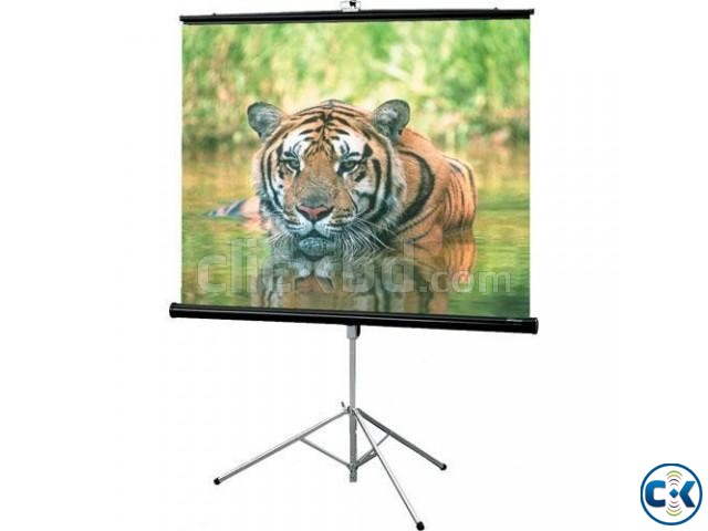 Tripod Projection Screen 70 x 70  | ClickBD large image 0