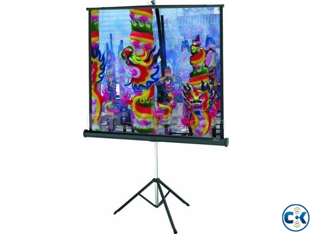 Tripod Projection Screen 70 x 70  | ClickBD large image 1