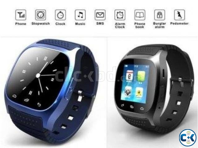 M26 Bluetooth Smart Mobile Watch | ClickBD large image 3