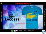 Lacoste T-shirts from Bangladesh for UK