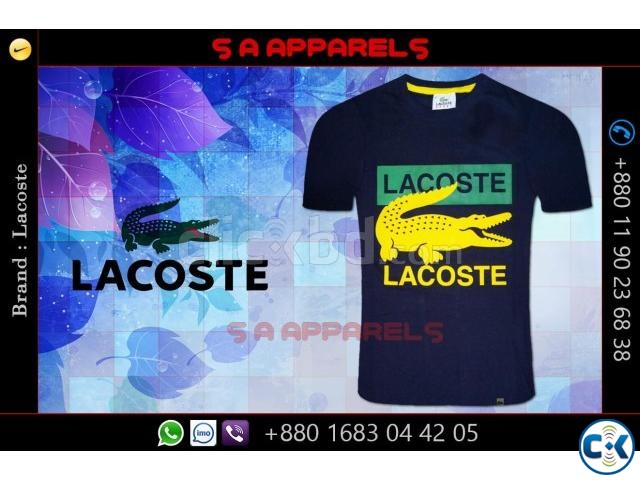 Lacoste T-shirts from Bangladesh for UK | ClickBD large image 1