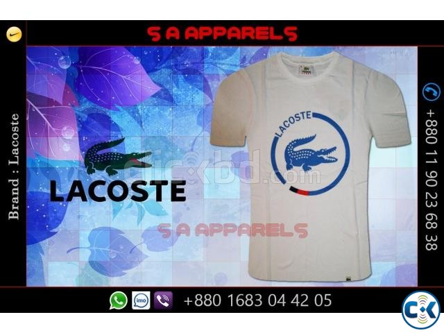 Lacoste T-shirts from Bangladesh for UK | ClickBD large image 2