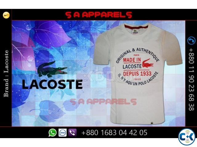 Lacoste T-shirts from Bangladesh for UK | ClickBD large image 3