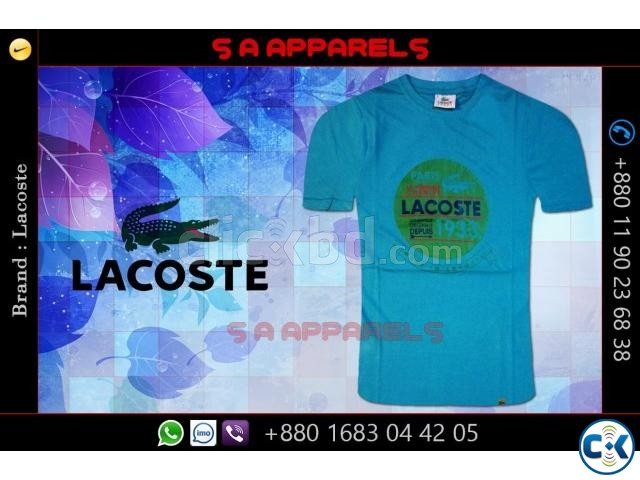 Lacoste T-shirts from Bangladesh for UK | ClickBD large image 4