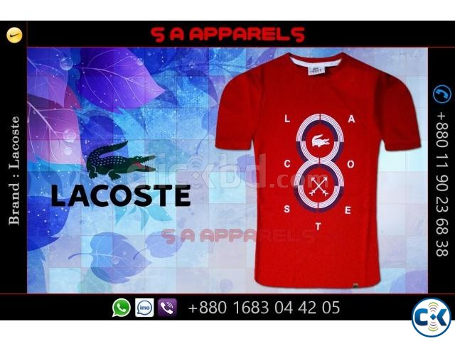 Wholesale Lacoste T-shirts from Bangladesh | ClickBD large image 3