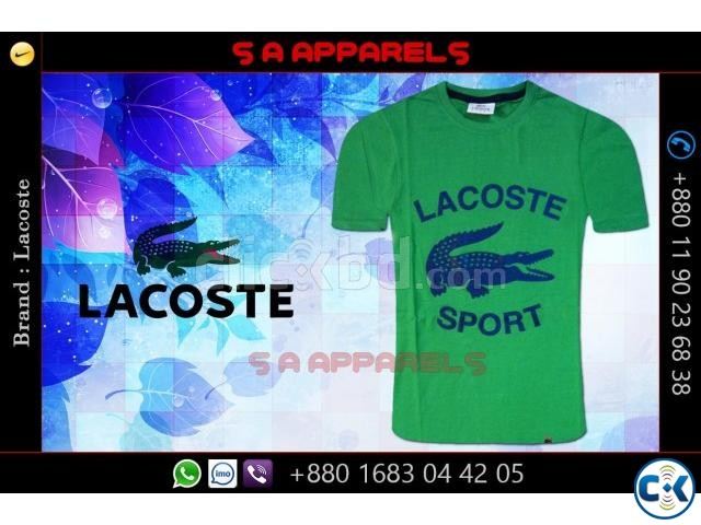Wholesale Lacoste T-shirts from Bangladesh | ClickBD large image 4