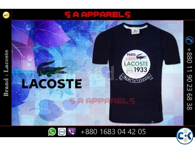 Lacoste t-shirts | ClickBD large image 0
