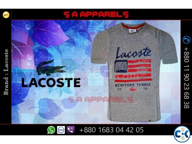 Lacoste t-shirts | ClickBD large image 1