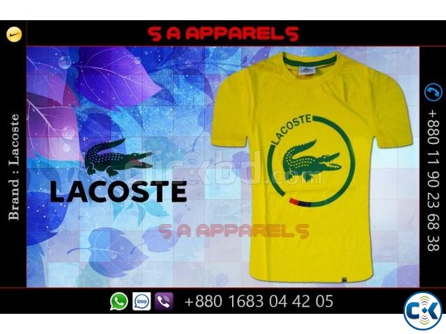 Lacoste t-shirts | ClickBD large image 3