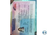 Documents Requirements For Malaysia 1 years Multiple Visit V
