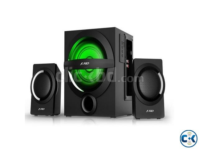 F D A140X Black Bluetooth 4.0 Audio Streaming 2 1 Speaker | ClickBD large image 1